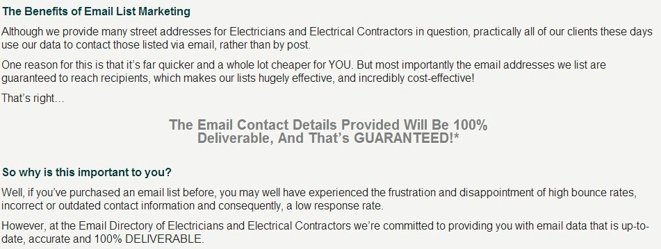 list of electricians